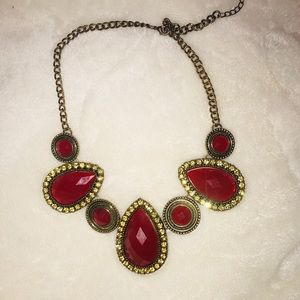 Jewelry - 🌟 Red gem necklace 🌟